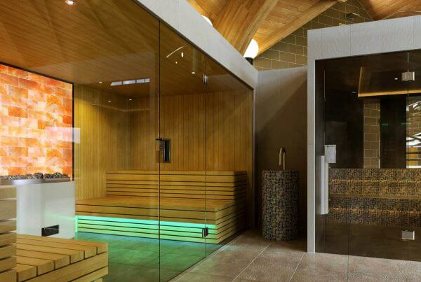 a custom spa design from Milk